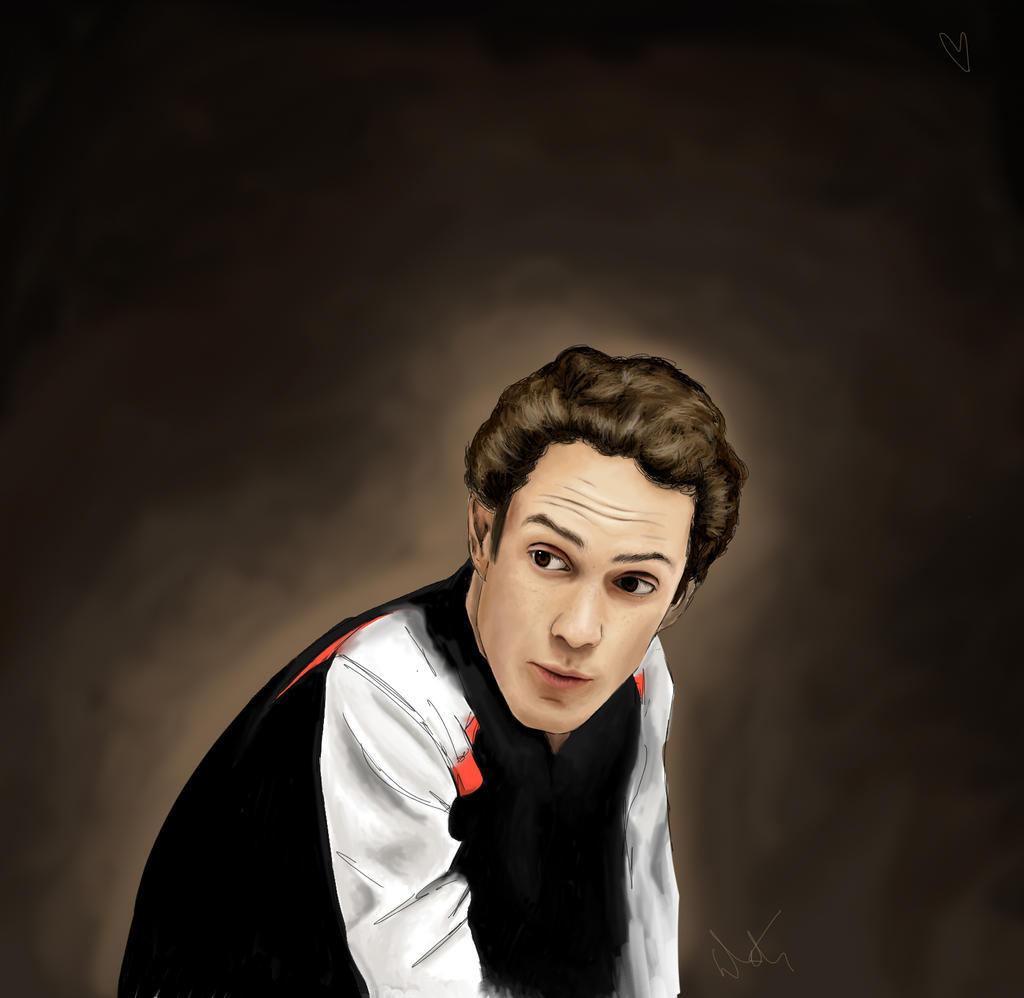 Bruno portrait 1 by Brakefoot