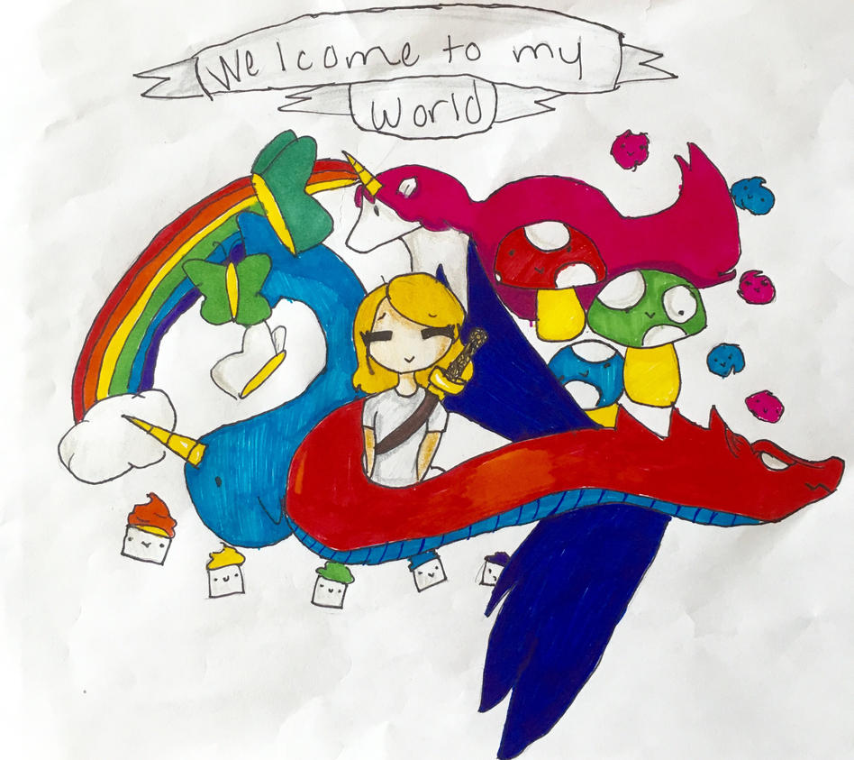 Welcome to my world by Joyfulfangirl