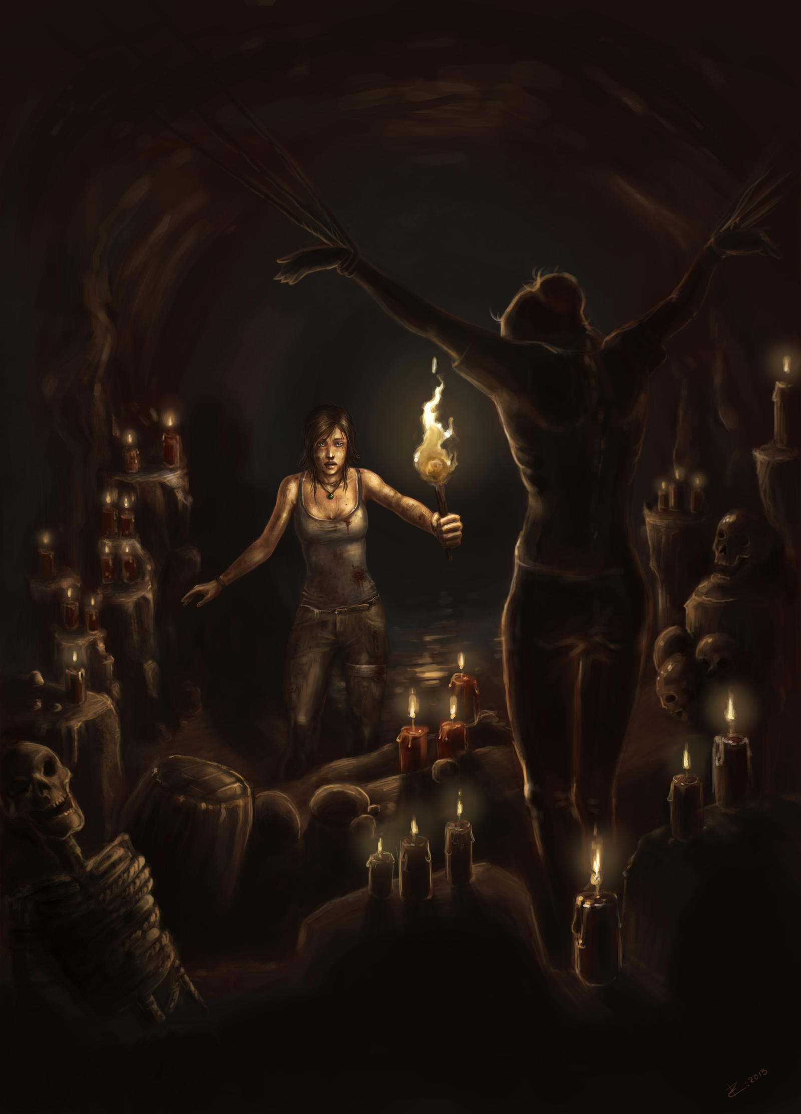 Tomb Raider Reborn Contest - Sacrifice by ZVilka