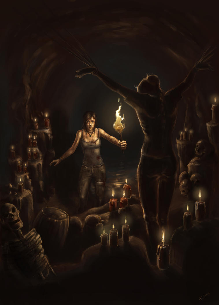Tomb Raider Reborn Contest - Sacrifice by ZVilka