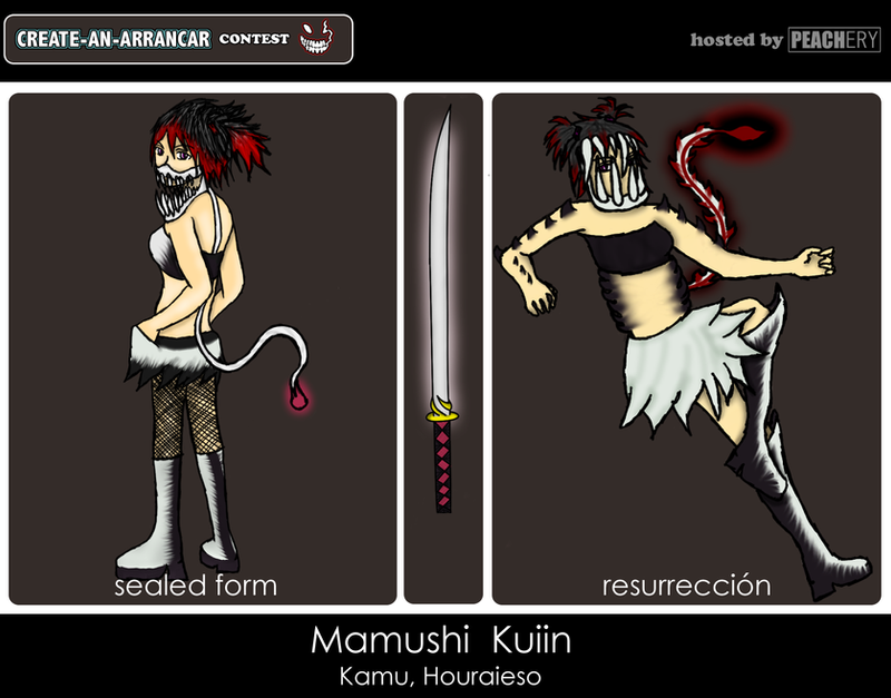 -Contest- Mamushi Kuiin by dragonxalli