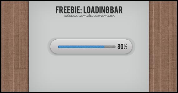 Freebie: Loading Bar by xDamianART
