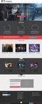 Onepage Minimalistic Website Design by xDamianART