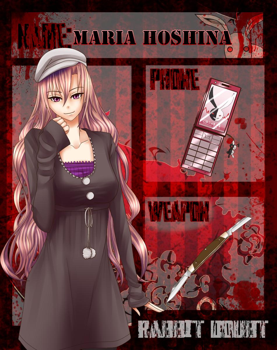 R-D App: Maria Hoshina by J3Mimi