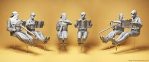 Steampunk Racers resin kit