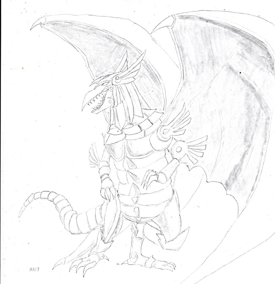 The Winged Dragon Of Ra By Metalarcanum17