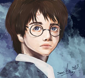 harry potter portrait commish