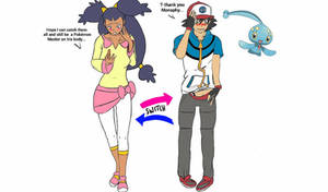[REQUEST] Ash and Iris Body Swap by UmbraCallistis