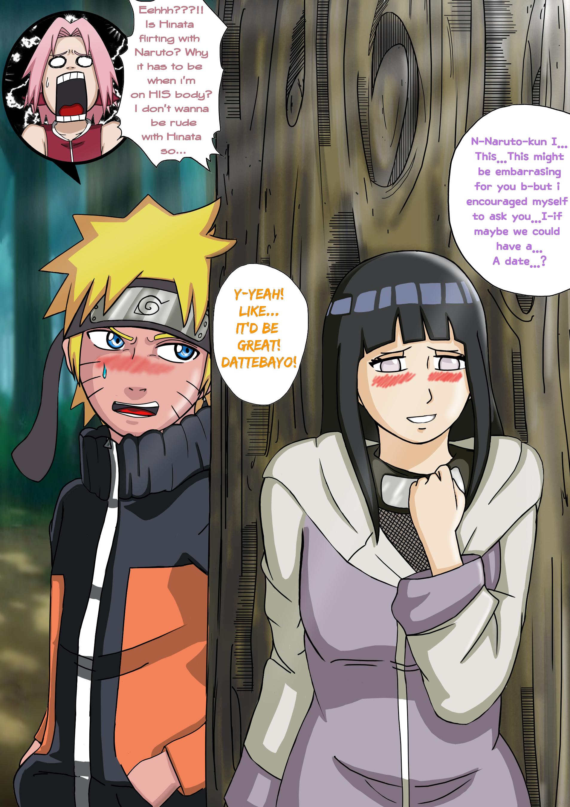 Naruto/Sakura Body Swap! Hinata, Im not Naruto! by