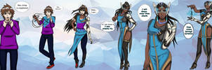 Symmetra  Overwatch TG - [Commission] by UmbraCallistis