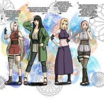 Head Swap - Konoha Girls! (Commission)
