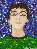 my van gogh self portrait by asubmarinewinter
