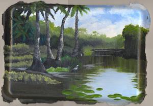 I Love Bjork In Swamps Across
