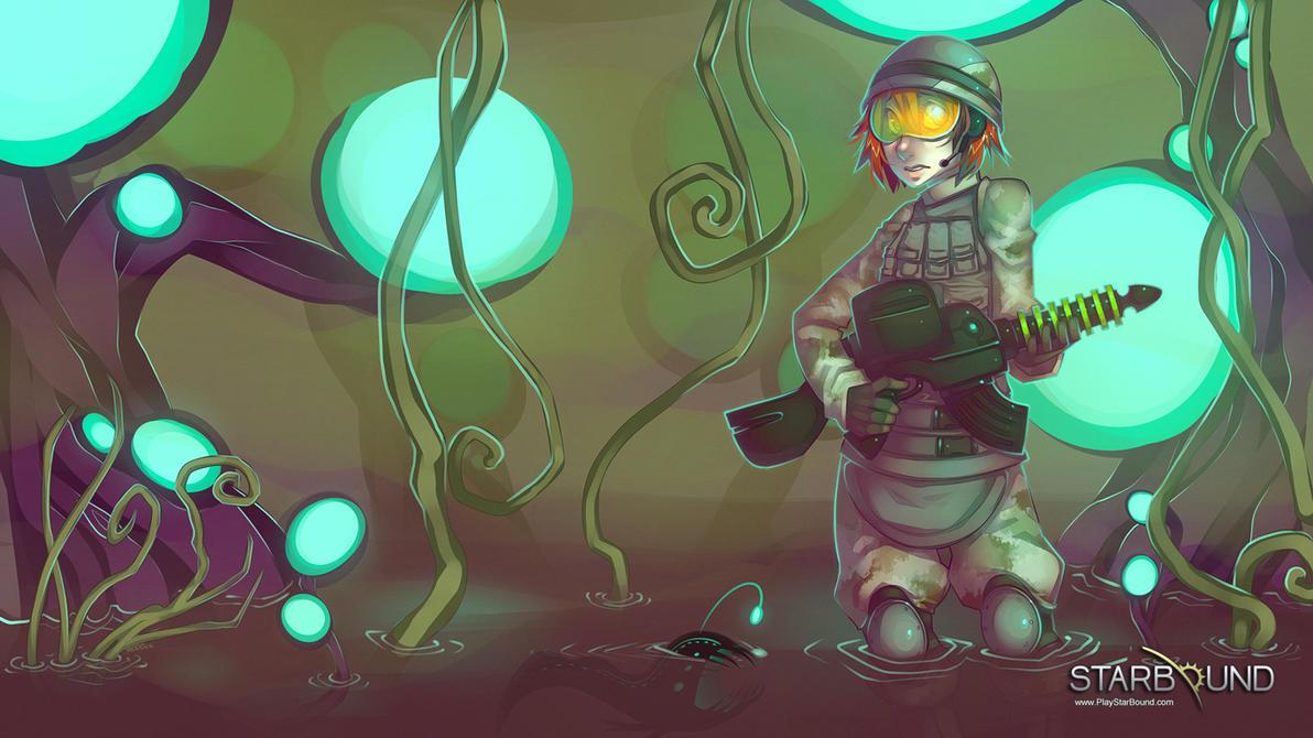 [STARBOUND] Unfamiliar Territory by ursanova