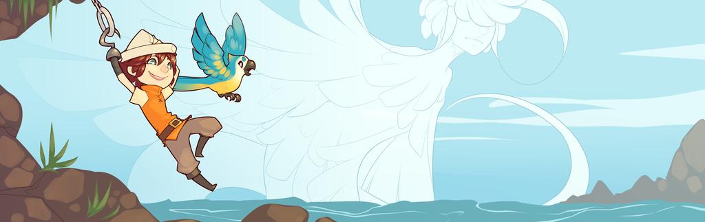 021015 :: Treasure Adventure World Banner 02 by fetalstars