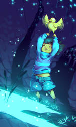 UNDERTALE - A Disproportionately Small Gap by fetalstars