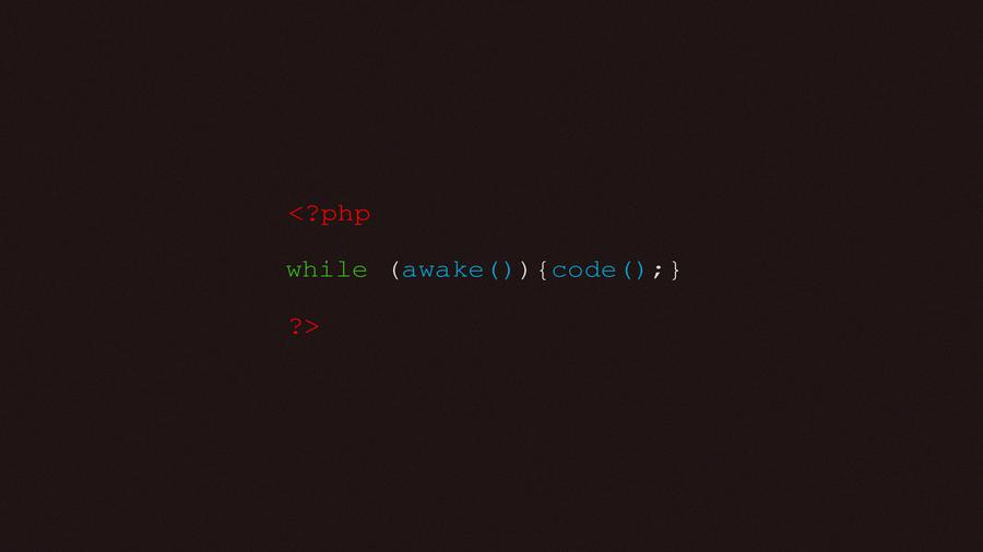 PHP Syntax Wallpaper By Danielsan89
