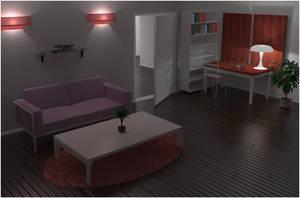 Lamp Fetish - General Interior Scene Training by Danielsan89