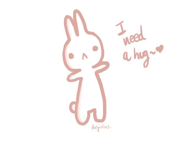 I need a hug by Thegirlins on DeviantArt