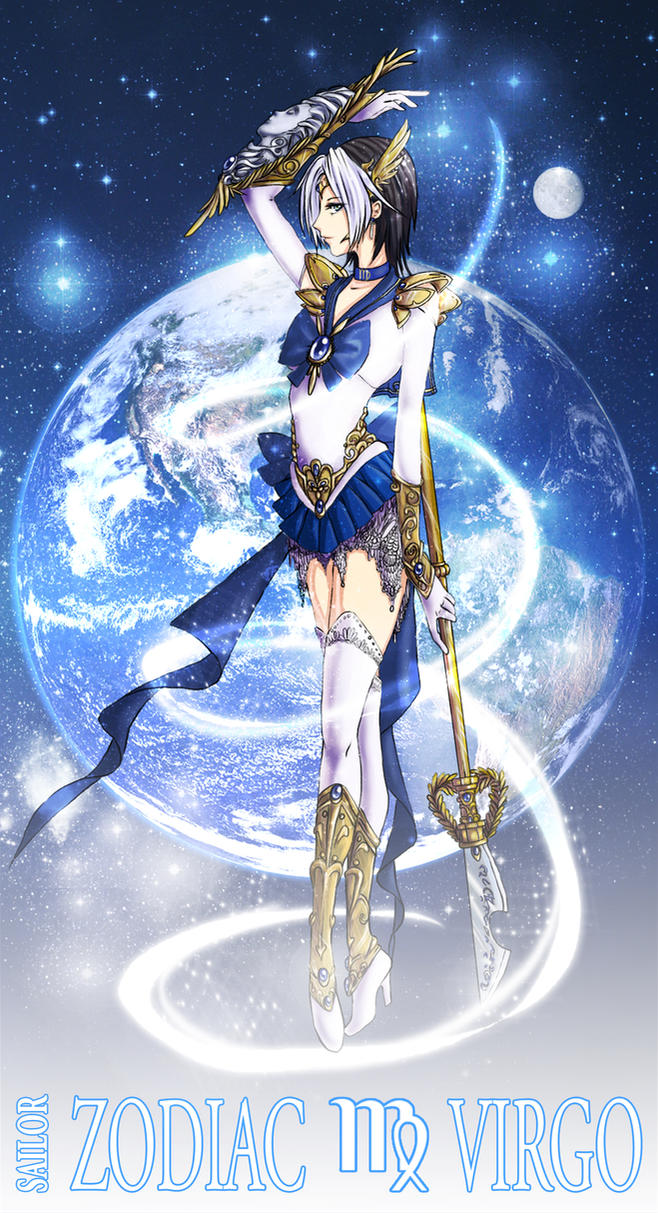 Anime Characters Virgo : Sailor zodiac virgo by nakuracalavera on deviantart