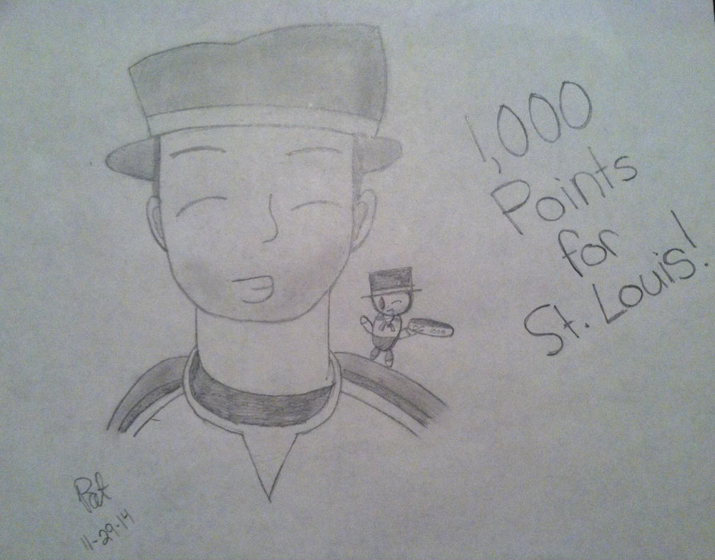 1,000 Points for St. Louis! by 2009abc