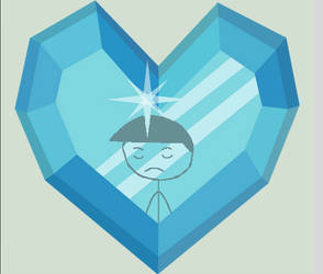 carmelo in the crystal heart by papercarmelo