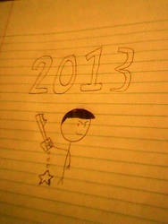 2013 is here by papercarmelo