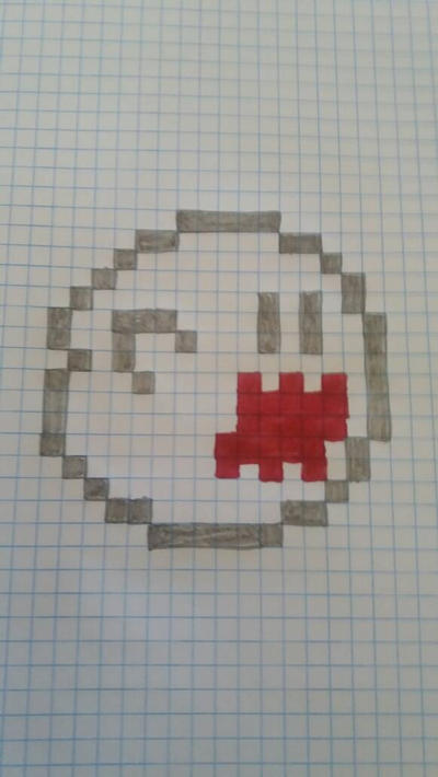 16-bit Boo by pokemaster1296
