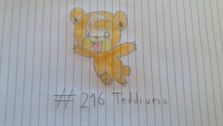 Teddiursa by pokemaster1296