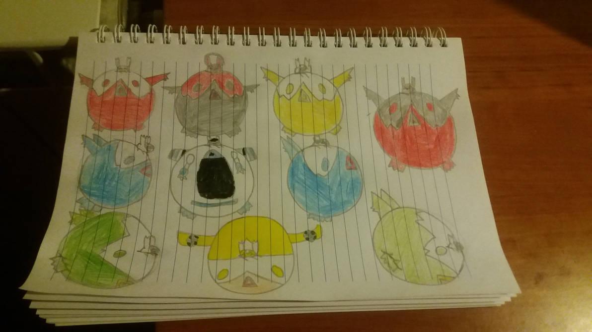 Puffy Latis everywhere by pokemaster1296
