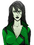 The Green Villain