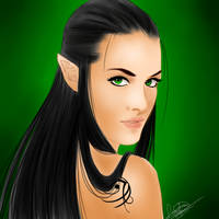 Arya - Elf Princess by SasukaKimura