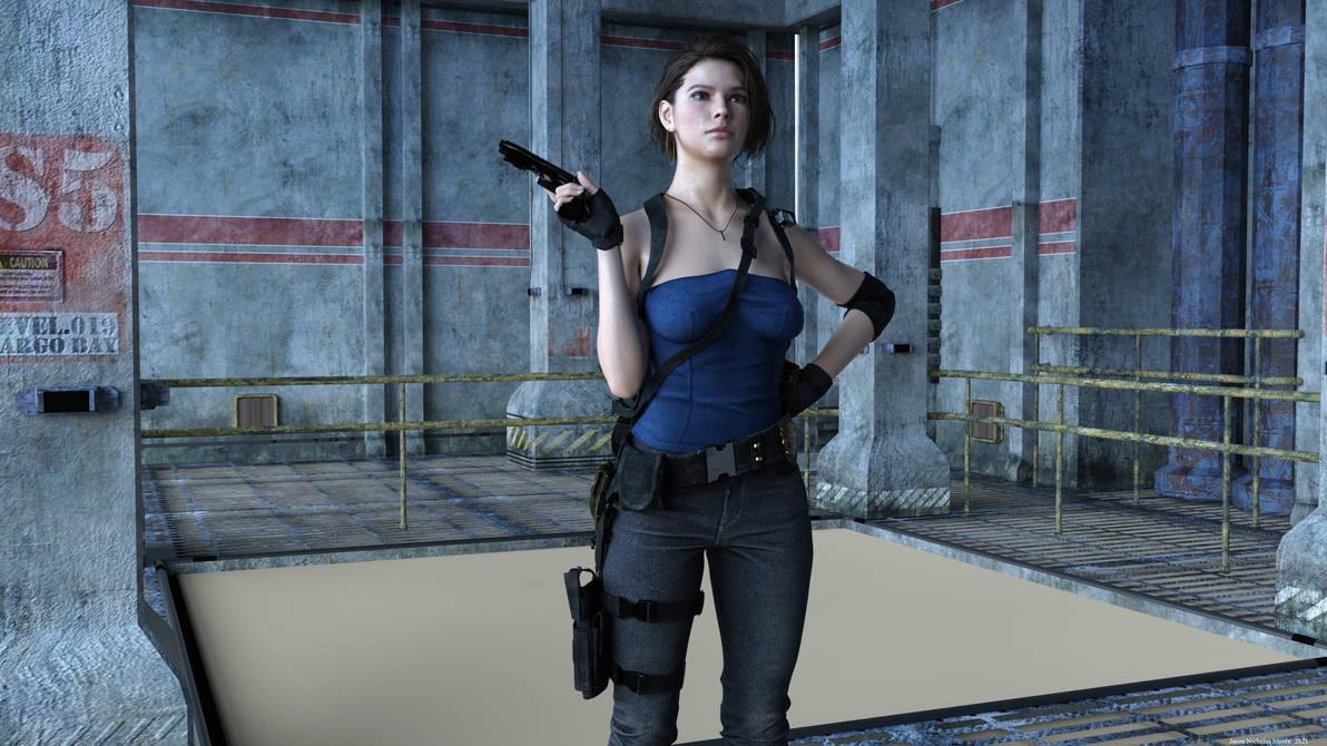 Jill at a Facility