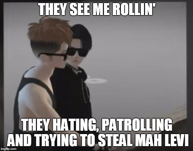 imvu_attack_on_titan_meme___they_see_me_rollin____by_x_marblehornets_x d9i1rbj imvu attack on titan meme they see me rollin by x marblehornets