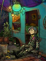 Damn Hippie by OMGitsSomething