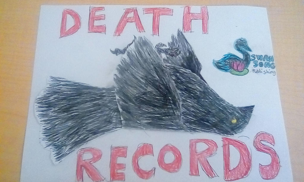 DEATH RECORDS label by littlebugp