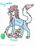 Fujimoto and Ponyo by littlebugp