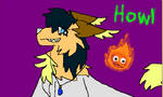 Howl and Calcifer by littlebugp