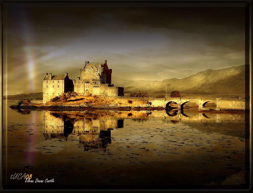 Highlander Castle - Scotland by t-u-c-a
