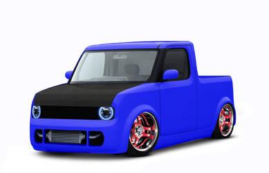 Nissan Cube by DjGizmo