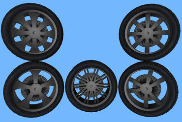 GT Rims Complete by DjGizmo