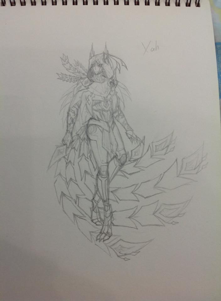 Sketch2 by NaraEragon