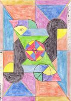 OLD DRAW geometric nonesense by marderchen