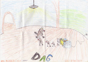 OLD DRAW Dagget and easycolne machine by marderchen