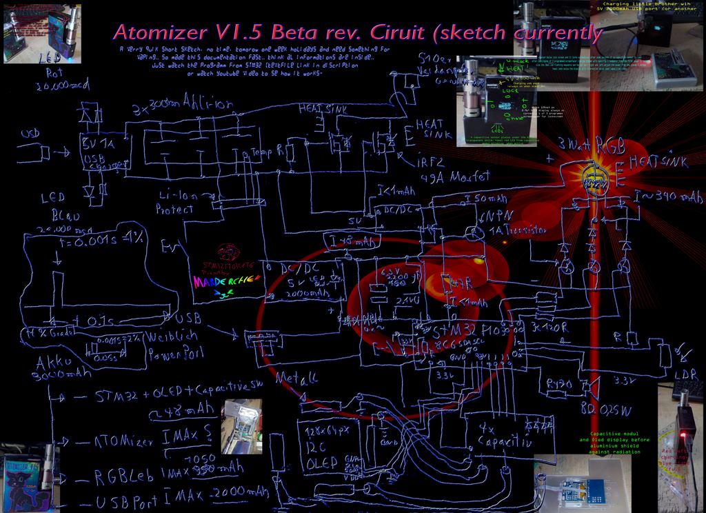 DOCU ATOMIZER rev.Beta STM32 OLED by marderchen