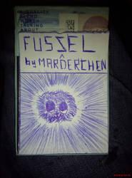 DRAW: cihiro rusz FUZSEL cigarettcover by marderchen