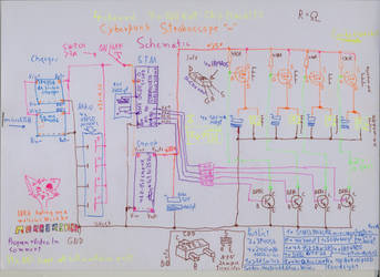 Cyperpunk stroboscope schematic