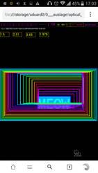 psychedelic html audio animation