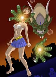 Demon Mage Wins by headlessFetish