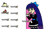 Stocking and cakes
